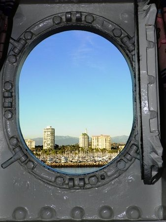 The Queen Mary: Port hole view