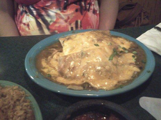 Carlos O'briens: enchiladas