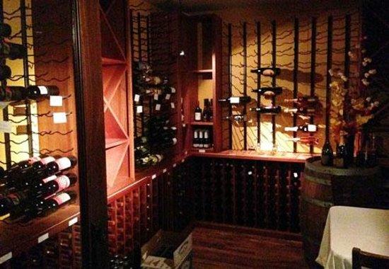 Lime Leaf Thai Fusion : Wine Room at Lime Leaf, Hendersonville, NC