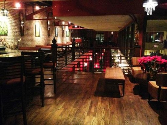 Second Floor Bar At Lime Leaf Restaurant Hendersonville Nc