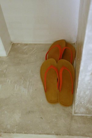 Surintra: two pairs of flippers for guests
