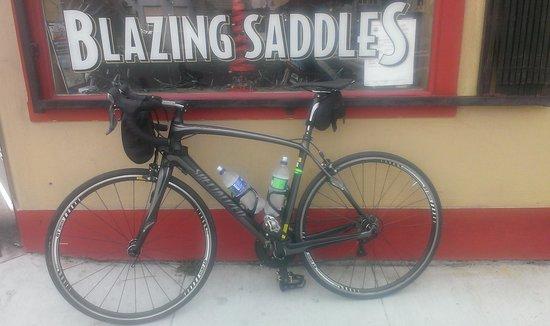 Blazing Saddles Bike Rentals and Tours: Great ride -Great bike!