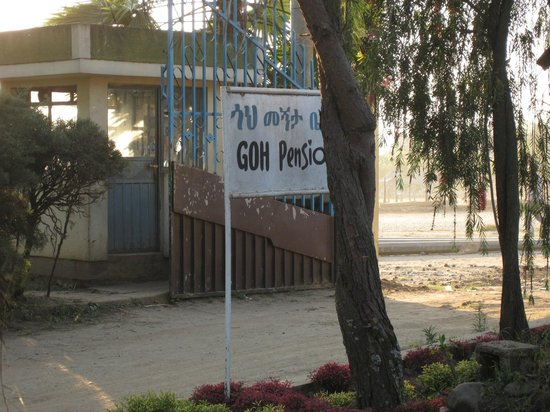 Goh Hotel : Entrance