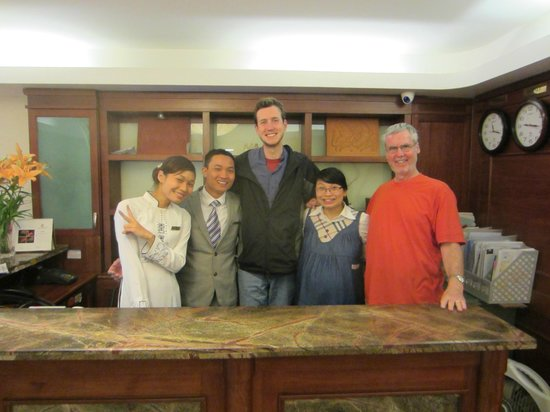 Hanoi Charming 2 Hotel : Best staff in Hanoi