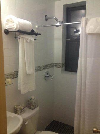Washington Jefferson Hotel: Room 512 Bathrrom