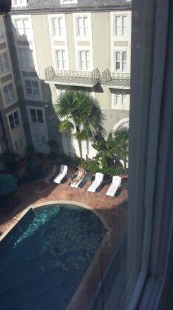 Bourbon Orleans Hotel: Court side room