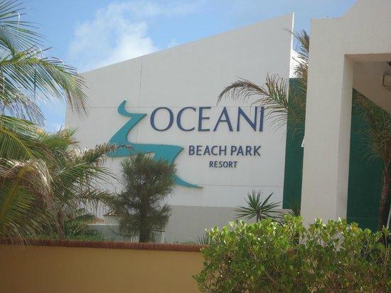 Oceani Beach Park Hotel Entrada