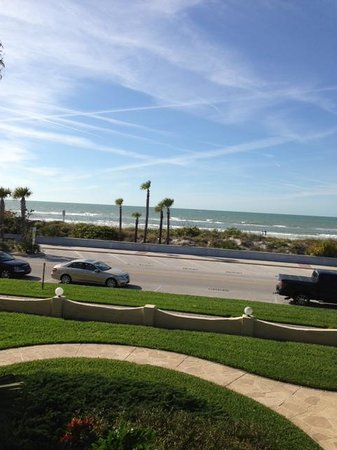 Camelot by the Sea: view from my balcony
