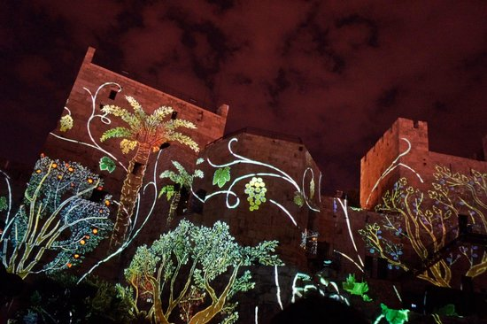 Museo Torre de David: Tower of David Light & Sound show