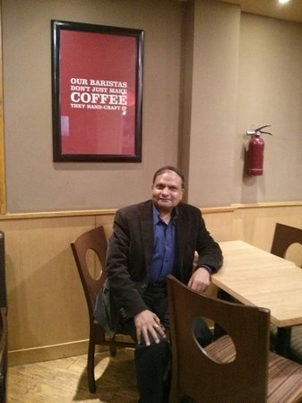 Costa Coffee: Inside the cafe