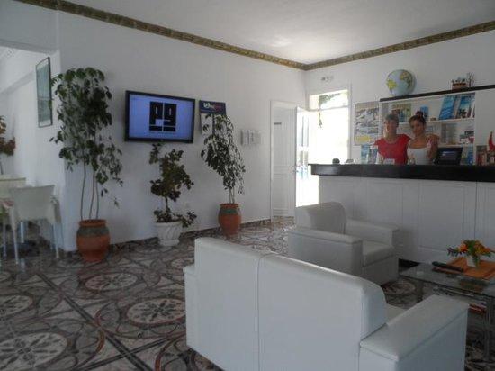 Athena Pallace Hotel: reception