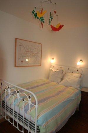 La Maison Bleue de Lille : Petite chambre familiale