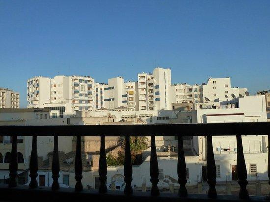 Hotel El Faracha: Vue depuis la chambre
