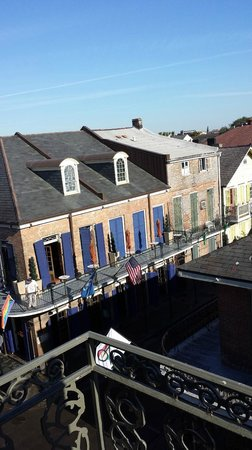 Bourbon Orleans Hotel : Street view from balcony