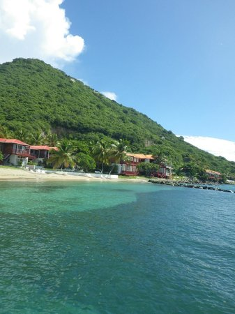 Fort Recovery Beachfront Villa & Suites Hotel: Resort from water