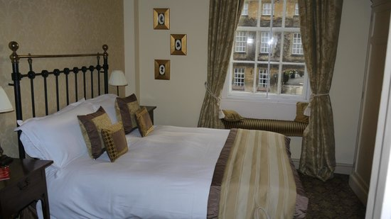 The Star Inn: Room 2 - looking onto the main square