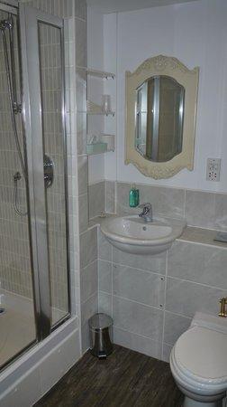 The Star Inn: Shower room