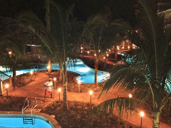 Sensatori Jamaica by Karisma: Pool Area After Dark