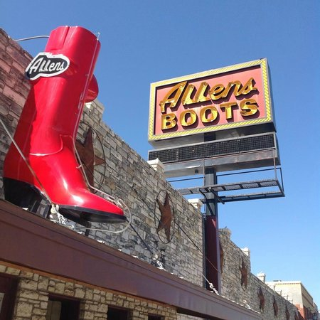 Photo of Tourist Attraction Allen Boots at 1522 S Congress Ave, Austin, TX 78704, United States