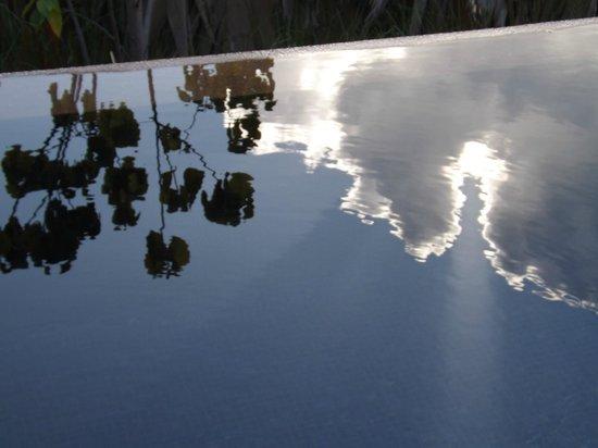 Raffles Seychelles: Plunge pool reflection