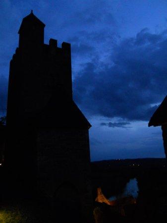 Château de Beynac : Chateau at night