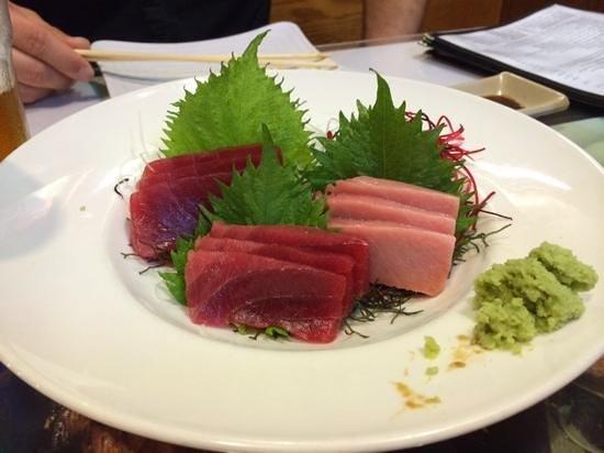 Sansei Seafood Restaurant & Sushi Bar : Special Christmas Day sashimi.