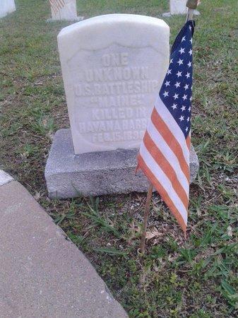 Key West Cemetery: Sailors grave
