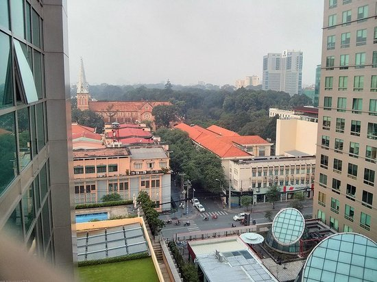InterContinental Residences Saigon : view from balcony