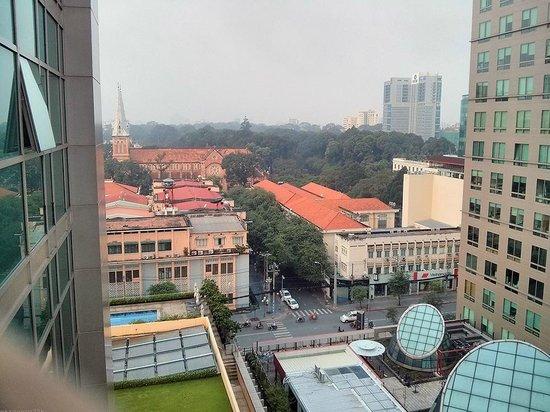 InterContinental Asiana Saigon Residences : view from balcony