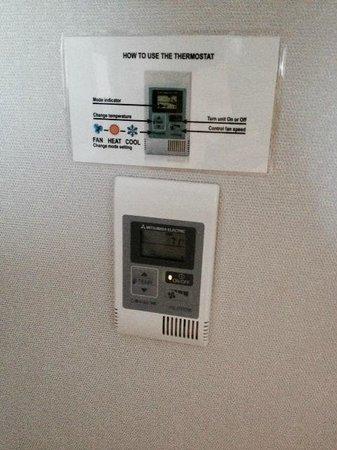 Holiday Inn Irvine Spectrum : Heat & Air controls