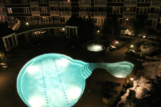 Allegheny Springs: Heated pool and hot tub.