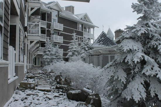 Allegheny Springs Condos at Snowshoe Mountain: Winter wonderland