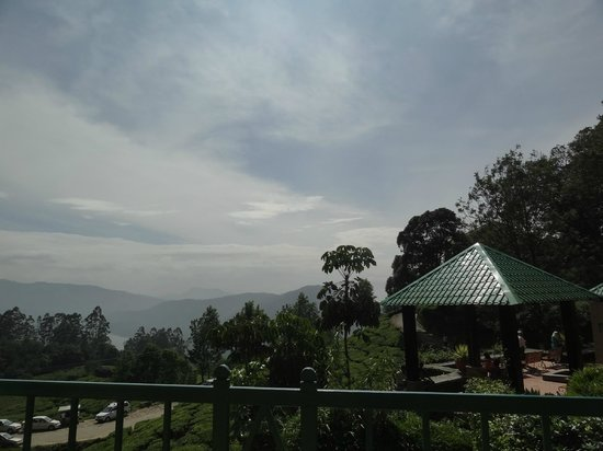 Club Mahindra Munnar: View from main building