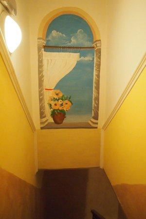 Hotel Ginevra : Treppenhaus