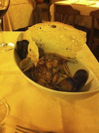Hostaria Le Repubbliche Marinare: Seafood spaghetti