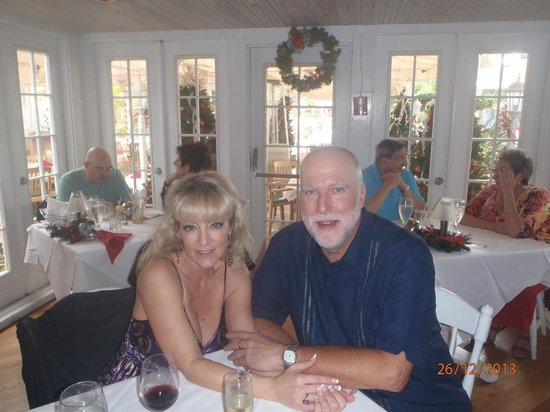 Tween Waters Inn Island Resort & Spa : Christmas luncheon at Old Captiva House