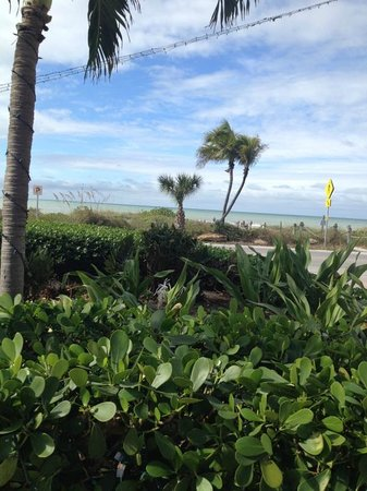 Tween Waters Inn Island Resort & Spa: View from front porch of the Lindberg Cottage