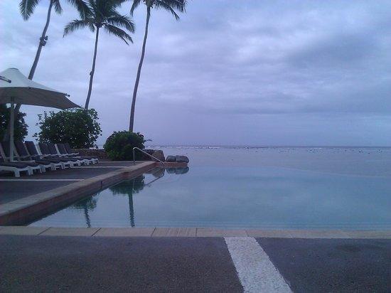 Shangri-La's Fijian Resort & Spa : Infinity Pool