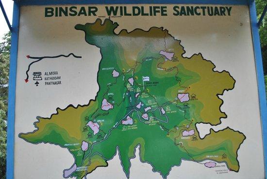 KMVN (Kumaon Mandal Vikas Nigam) Tourist Rest House: Binsar Wildlife Sanctuary