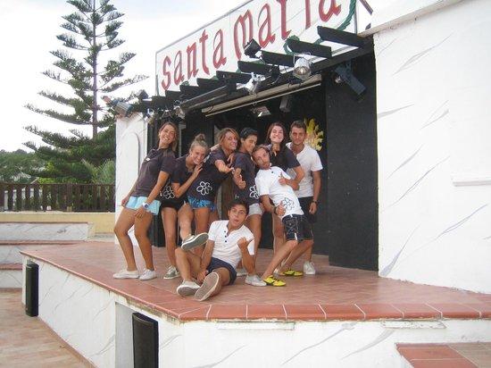 Villaggio Santa Maria: I ragazzi dello staff di animazione