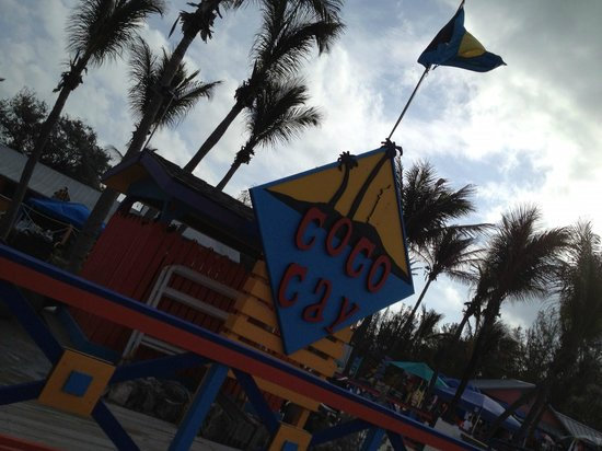 Coco Cay (Little Stirrup Cay) : Coco Cay main dock