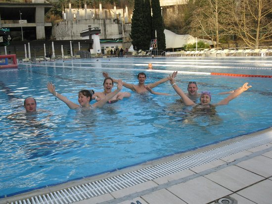 ‪Swimming Pool of the Hotel Yalta Intourist‬