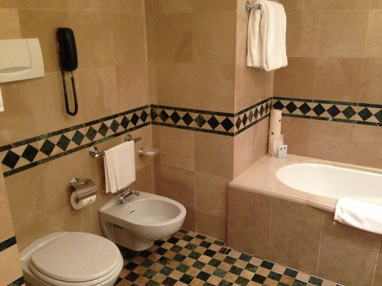 The St. Regis Florence: Bath with bidet