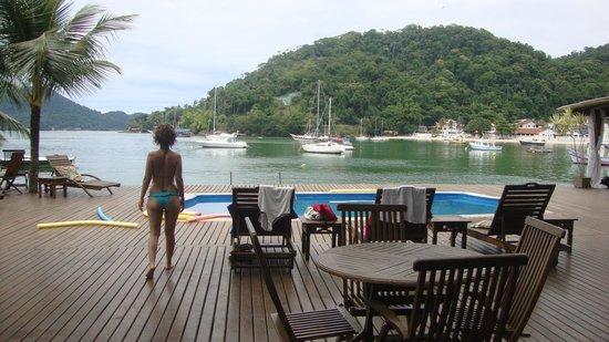 Pousada Jamanta: nadar na piscina ou no mar. é só escolher. foto paulo rezende
