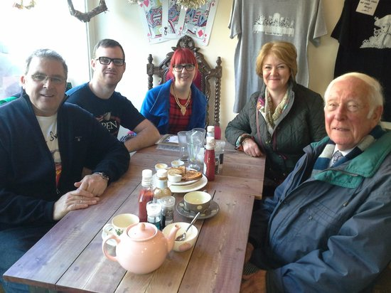 The Mad Hatter's Tea Party: Christmas Eve family gathering for Breakfast