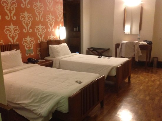 Grand Hotel Cochin : the room