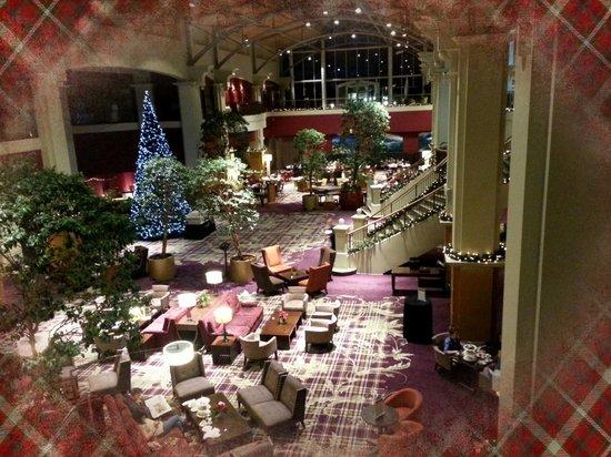 The Atrium - Fairmont St Andrews, Christmas 2013