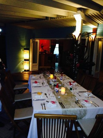 Raiatea Lodge Restaurant
