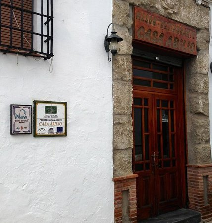 Casa Abilio: Entrance from the street