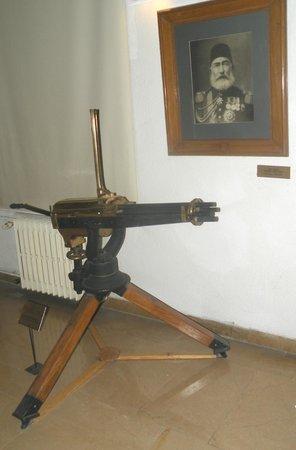 Militärmuseum (Harbiye Askeri Müzesi): Ottoman Machine Gun